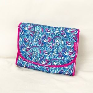 Lilly Pulitzer for Target Blue Pink Seashell Tote